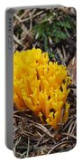 Yellow Coral Mushroom Portable Battery Charger