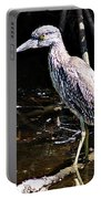 Yellow Crowned Night Heron II Portable Battery Charger