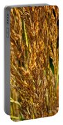 Yellow Feather Reed Grass Portable Battery Charger