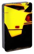 Yellow Ferrari Portable Battery Charger