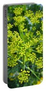 Yellow Firework Or Dill In Its Glory Portable Battery Charger