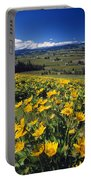 Yellow Flowers Blooming, Hood River Portable Battery Charger
