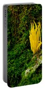 Yellow Fungus Portable Battery Charger