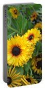 Yellow Garden Portable Battery Charger