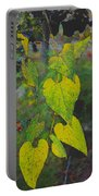 Yellow Heart Leaves IIi Photoart Portable Battery Charger