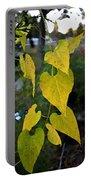 Yellow Heart Leaves Photoart II Portable Battery Charger