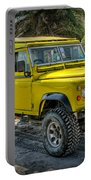 Yellow Jeep Portable Battery Charger