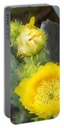 Yellow Lace Unveiled Portable Battery Charger