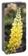 Yellow Lupine Portable Battery Charger
