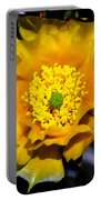 Yellow Porcupine Portable Battery Charger