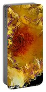 Yellow Rose Art Portable Battery Charger