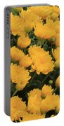 Yellow Sea Of Flowers Portable Battery Charger