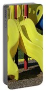Yellow Slides Portable Battery Charger