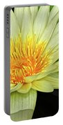 Yellow Waterlily Portable Battery Charger
