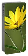 Yellow Wildflower 2 Portable Battery Charger