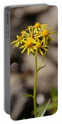 Yellow Wildflower At Crater Lake Portable Battery Charger