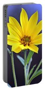 Yellow Wildflower Portable Battery Charger