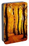 Yellow Wood Portable Battery Charger