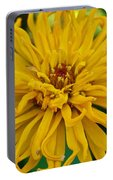 Yellow Zinnia_9480_4272 Portable Battery Charger