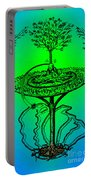 Yggdrasil From Norse Mythology Portable Battery Charger