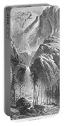 Yosemite Falls, 1874 Portable Battery Charger