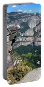 Yosemite Valley From Glacier Point Portable Battery Charger