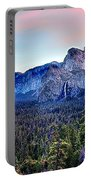 Yosemite Valley From Tunnel Portable Battery Charger