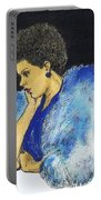 Young Billie Holiday Portable Battery Charger