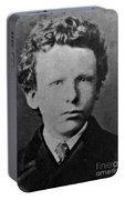 Young Vincent Van Gogh, Dutch Painter Portable Battery Charger