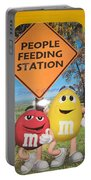 Yummy M And M's Portable Battery Charger
