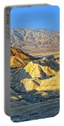 Zabriskie Point Death Valley Portable Battery Charger
