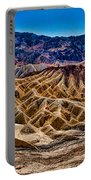Zabriskie Point Panorama Portable Battery Charger