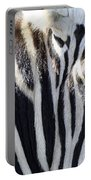 Zebra Face  Portable Battery Charger