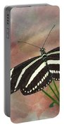 Zebra Longwing Butterfly-3 Portable Battery Charger