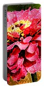 Zinnia Blast Portable Battery Charger