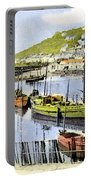 1900 Harbour View Mousehole Cornwall England Portable Battery Charger
