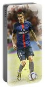 Angel Di Maria Controls The Ball Portable Battery Charger