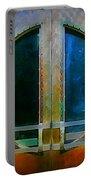 Art Deco Door In Halifax Nova Scotia Portable Battery Charger