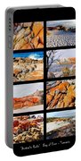 ' Australia Rocks ' - Bay Of Fires - Tasmania Portable Battery Charger