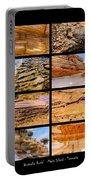 ' Australia Rocks ' - Maria Island - Tasmania Portable Battery Charger