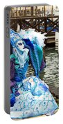 Blue Angel 2015 Carnevale Di Venezia Italia Portable Battery Charger