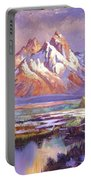Breaking Winter Sunlight Portable Battery Charger