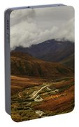Brooks Range, Dalton Highway And The Trans Alaska Pipeline  Portable Battery Charger