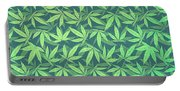 Cannabis   Hemp  420   Marijuana  Pattern Portable Battery Charger