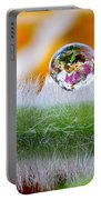Drop Of Rain On The Pod Lupine Portable Battery Charger