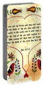 Fraktur-ask The Beasts Portable Battery Charger
