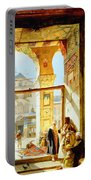 Gate Of The Great Mosque. Damascus Portable Battery Charger