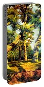 Green Summer-the Oak Forest Portable Battery Charger