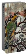 Green-yellow Bird Portable Battery Charger