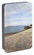 Harbour Wall Lyme Bay Dorset Portable Battery Charger